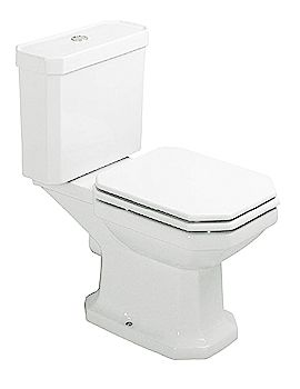 Image of Duravit 1930 Series Toilet Close Coupled 655mm - 0227090000