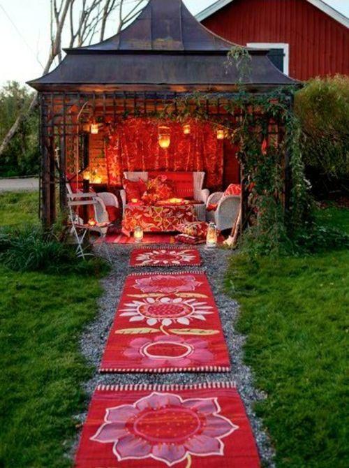 Bunte Ideen Fur Ihre Gartendeko Und Ihr Gartenzubehor Gartengestaltung Bilder Gartengestaltung Hintergarten