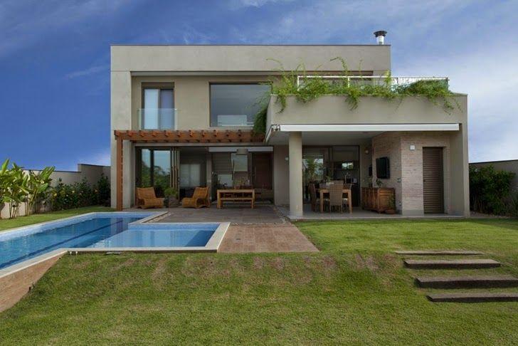 Casa moderna brasil 728 486 pixeles outdoor for Casas modernas nordelta