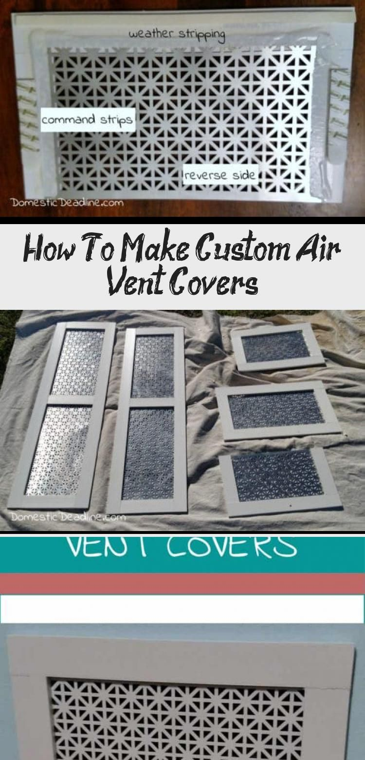 How To Make Custom Air Vent Covers in 2020 (With images