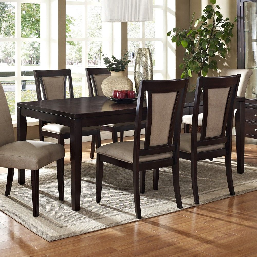 Espresso Dining Room Table  Best Office Furniture Check More At Best Espresso Dining Room Sets Decorating Design
