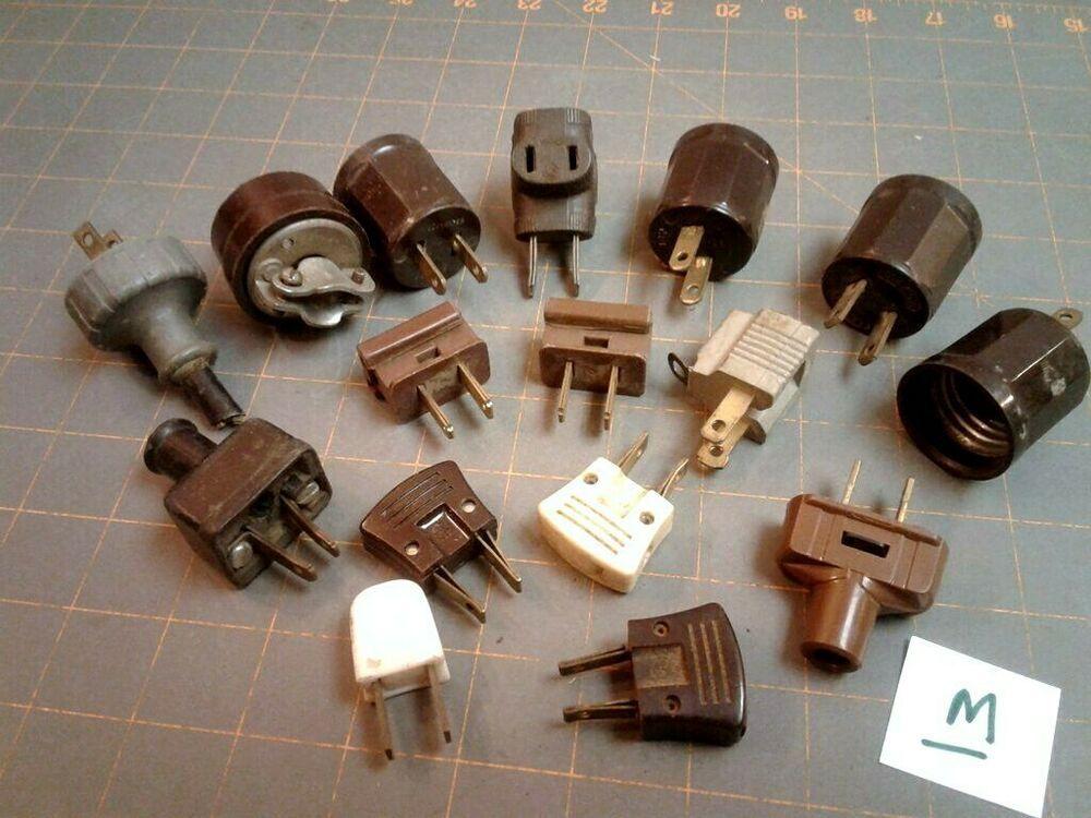 16 Electrical Plugs Assortment Leviton Ge Vintage Retro Retro Vintage Things To Sell Retro