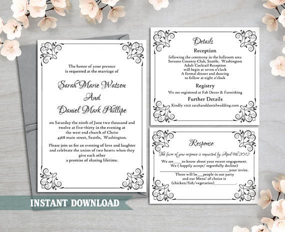 Formal Dinner Invitation Sample Httpswww.etsylisting261201423  Weddings  Pinterest .