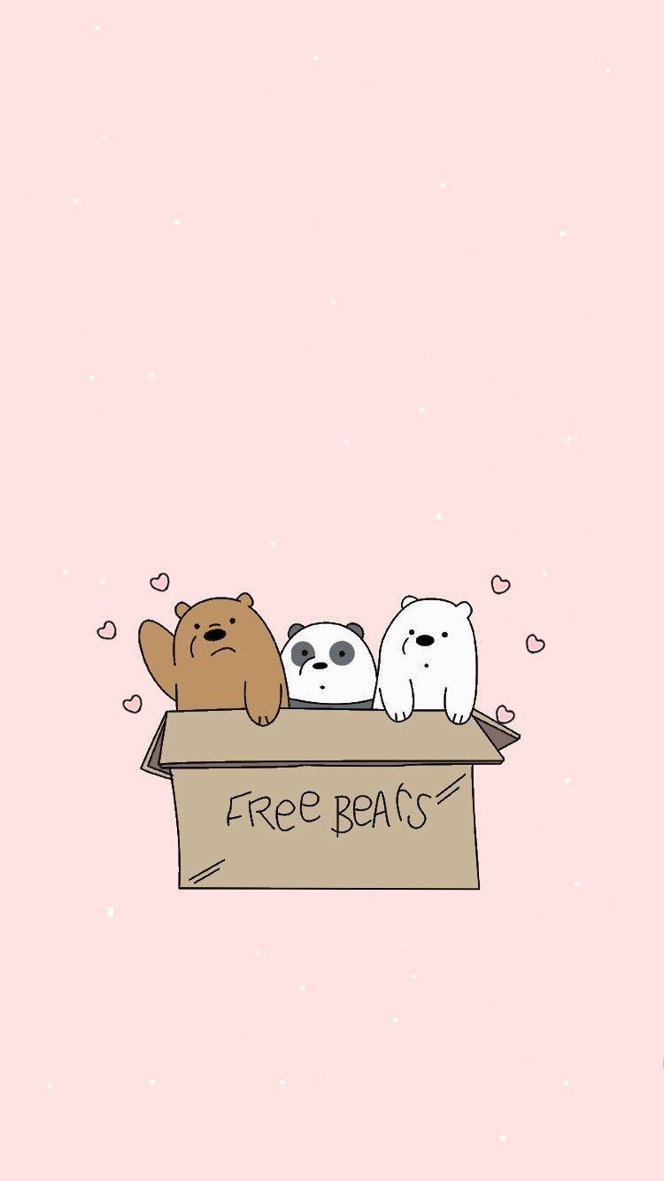 6번째 이미지 Bears 6번째 이미지 We Bare Bears Wallpapers Bear Wallpaper Bare Bears