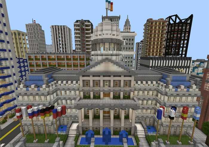 Universal City [Creation] | Minecraft PE Maps | Meisterdamiseks ...