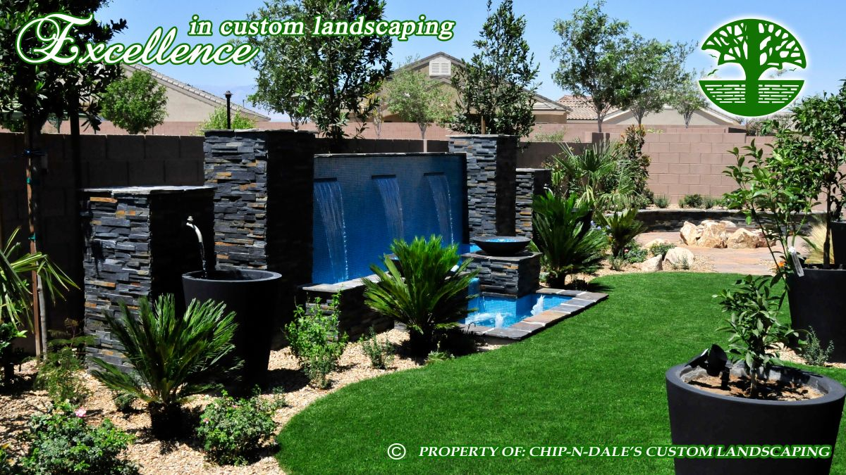 Synthetic turf landscape designs by Chip-N-Dale's Custom Landscaping Las  Vegas, Nevada - Synthetic Turf Landscape Designs By Chip-N-Dale's Custom Landscaping