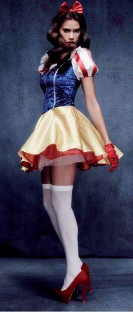 Vestido de blancanieves adulto