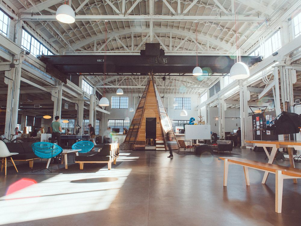 creative agency office. we are an independent digital creative agency in portland, oregon. office