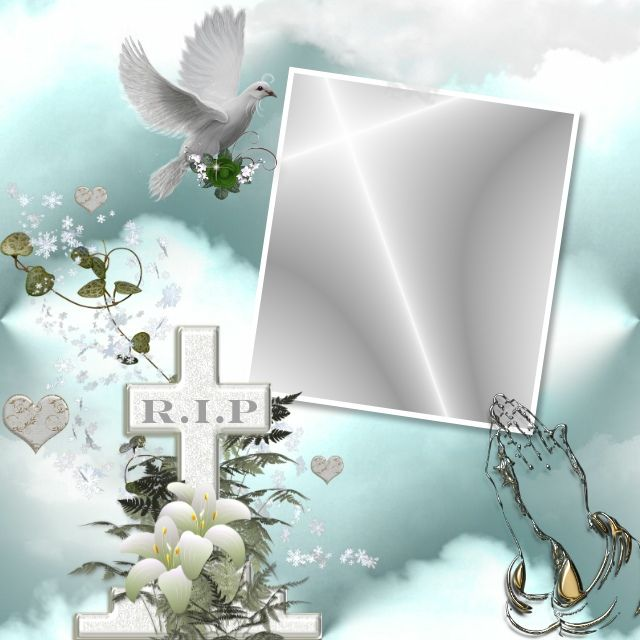 In Loving Memory Picture Frame Decor Memory Frame Memory Pictures