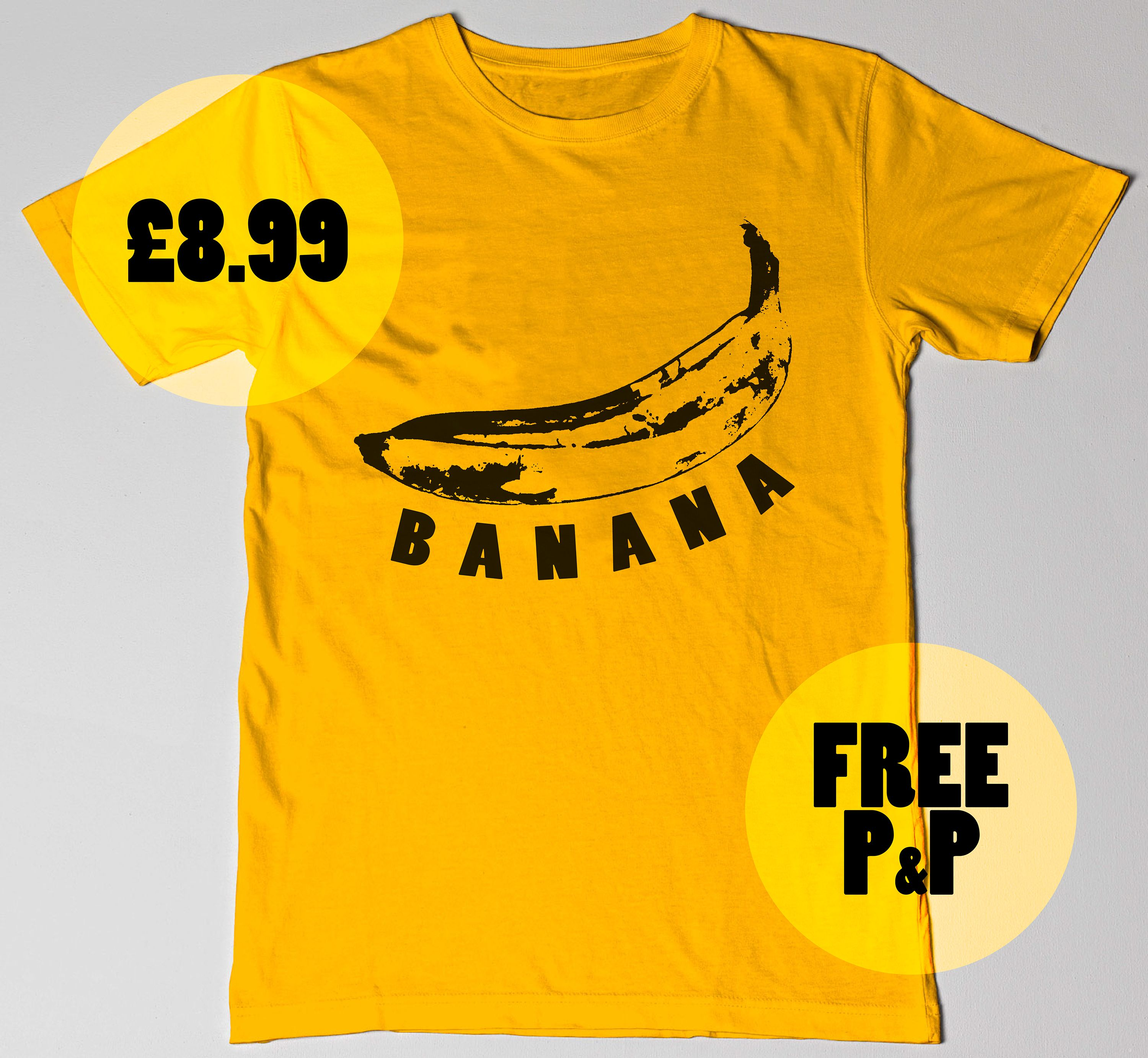 I feel like I'm going Bananas with all these tshirts... eh eh ;D ......... Ok I'll stop haha - - Find this Tee and much more on our store - - #yellow #banana #andywarhol #warhol #tshirt #tee #slogan #slogantee #slogantshirt #fashion #mens #womens #printedtee #printedtshirt