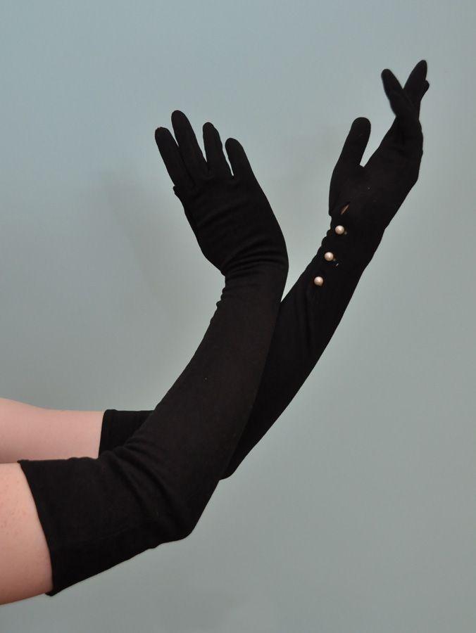 ccfdc254f0a7f Must find... | Fancy Pants in 2019 | Vintage gloves, Black gloves ...