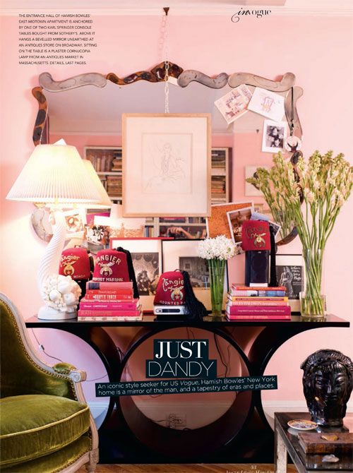 vintage octagon mirror wants to live in a tween\'s pink room w ...