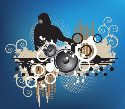 The Beat Vector Background Vector Graphics Design Graphic Design Services