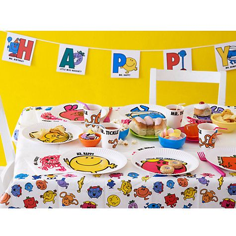 Buy Mr Men Party Online at johnlewiscom interdisciplinary Design