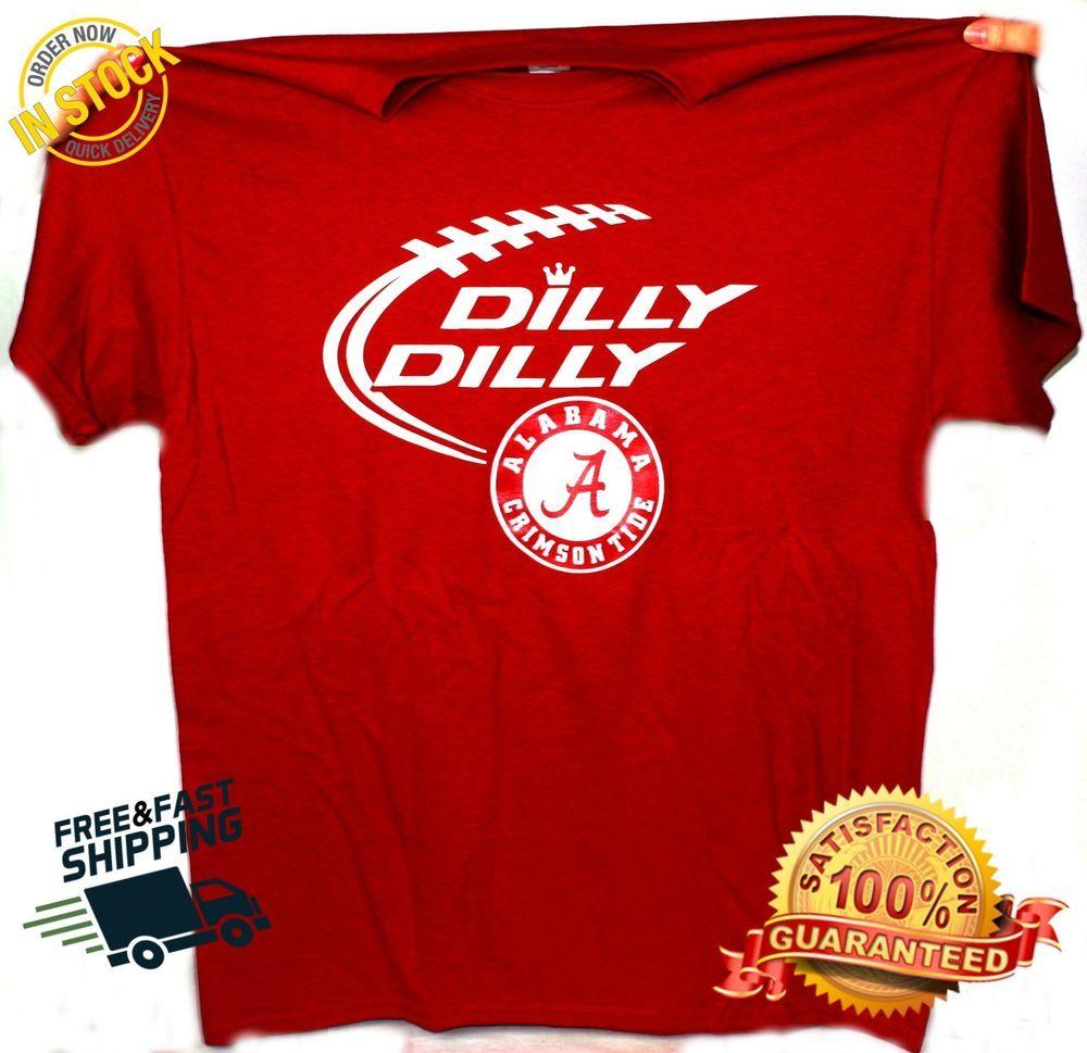 83cada2cf9db99 Alabama Crimson Tide Championship Dilly Dilly T-Shirt  Gildan   AlabamaCrimsonTide
