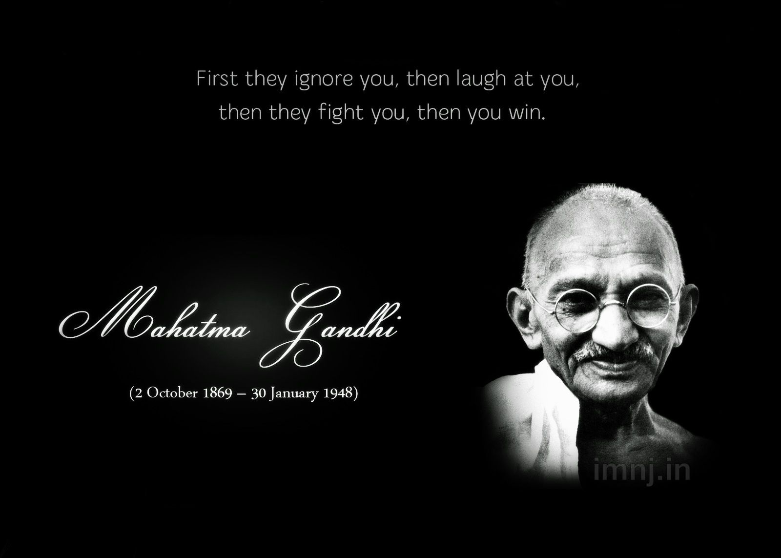 Mahatma Gandhi Quotes Gandhi Jayanti Non Violence Day. Brainy QuotesLife  Inspirational ...
