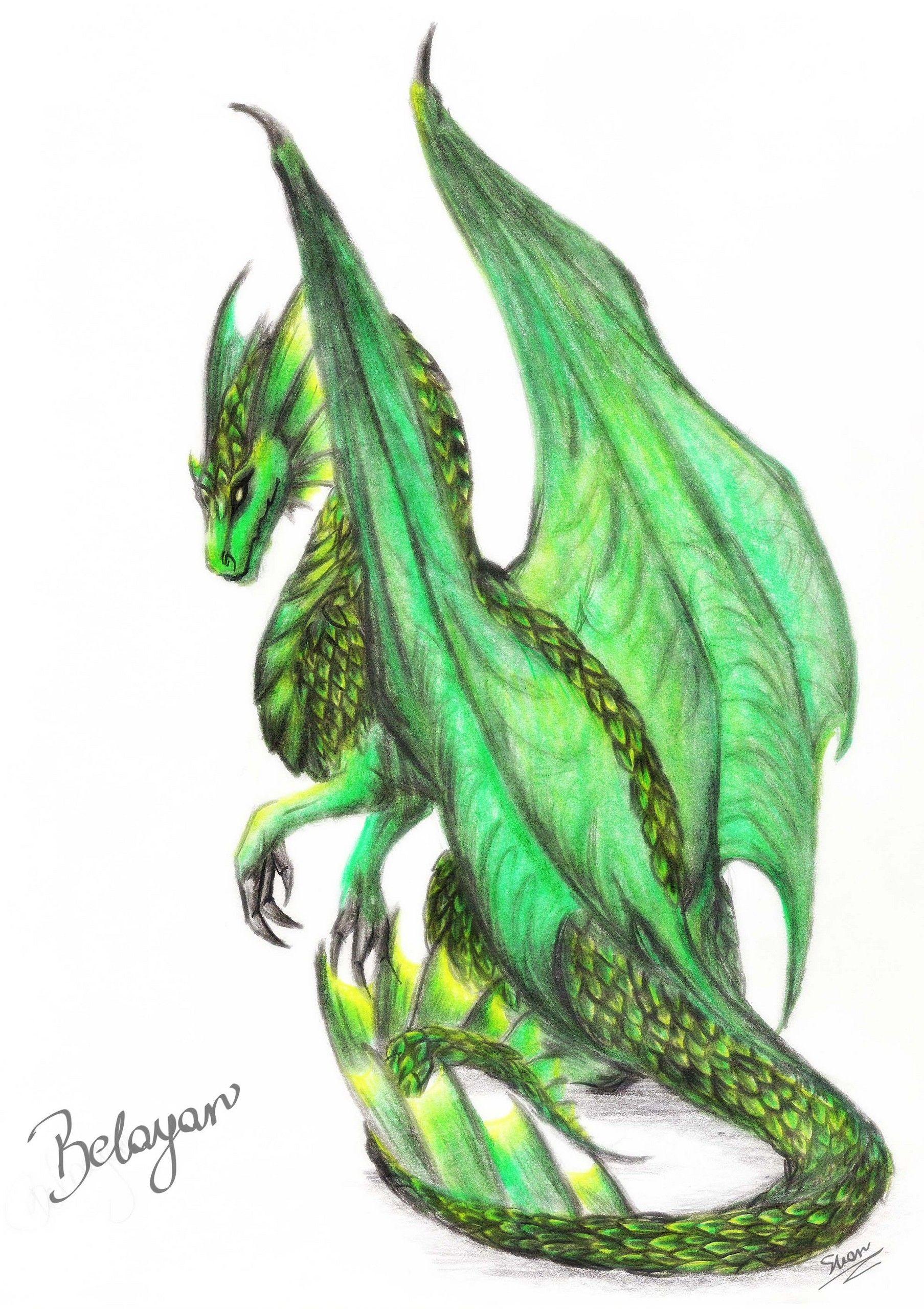 dragons | beautiful green dragon - Dragons Photo (31477502) - Fanpop ...