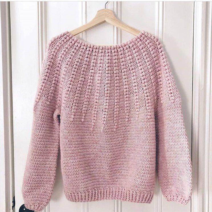 Modèle de chandail au crochet débutant gratuit pour 2019 - Page 4 of 51 - Crochet Blog