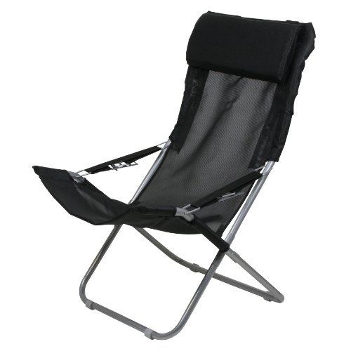 10t Maxi Chair Camping Stuhl Relax Hochlehner Mit Kopfpolster 4 Fach Verstellbar Faltbar Amazon De Sport Freizeit Chair Portable Chair Camping Chair