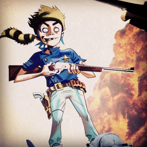 2D from Gorillaz Phase 4.