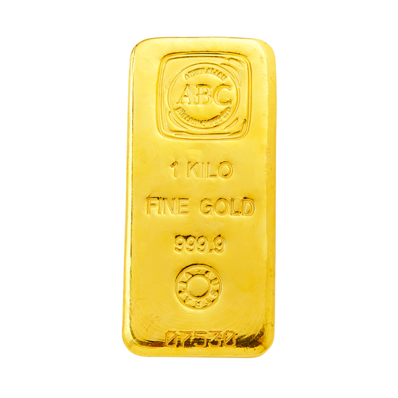 The Abc Bullion 1 Kilogram Gold Bar Is The Most Widely Domestically Traded Bullion Bar And Gives Investors The Most Cost Effective Access To T Gold It Cast Abc