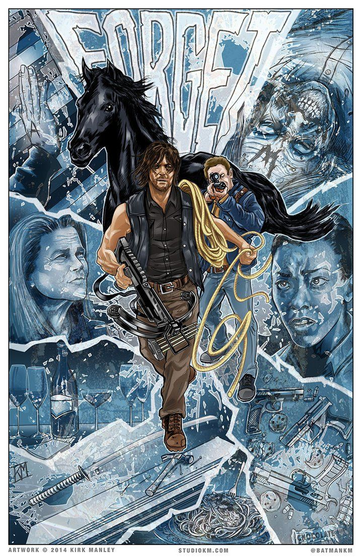 portadas de cómic para 'The Walking Dead'