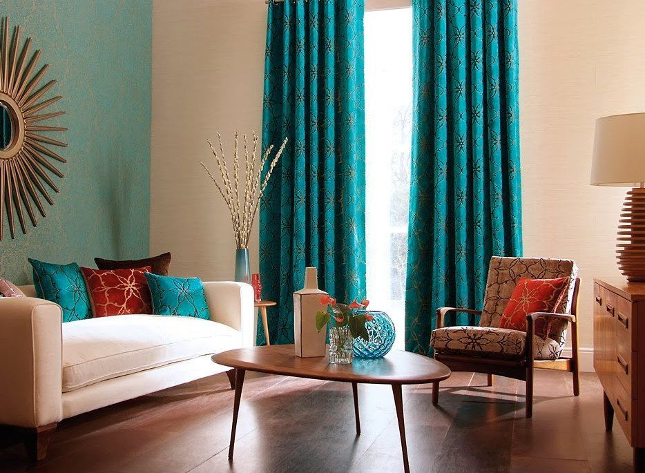 Pin On Decor #teal #and #beige #living #room