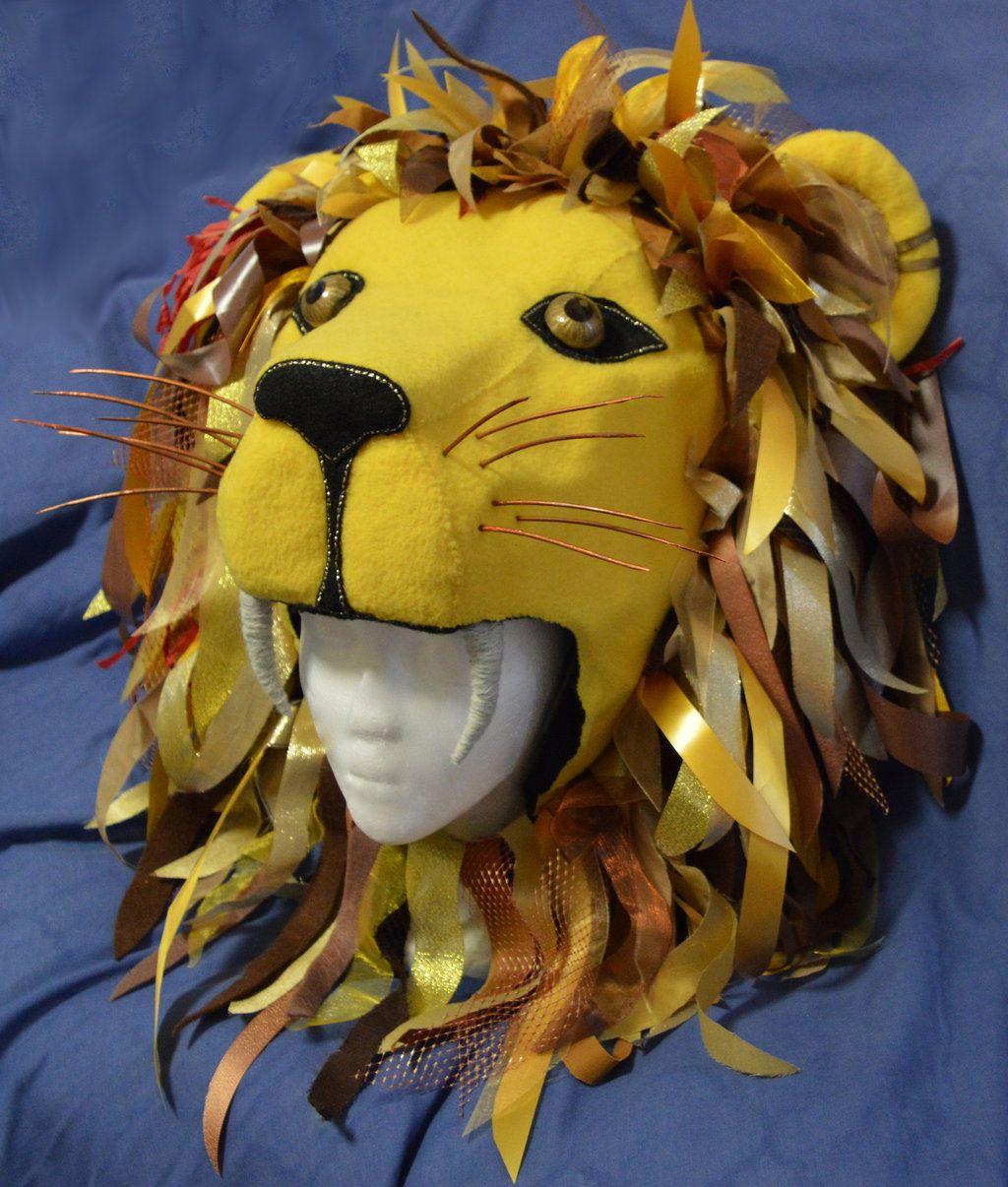 d967af20f3e Luna Lovegood Lion Hat  3 by LaurenIsACrazyLlama.deviantart.com on   DeviantArt
