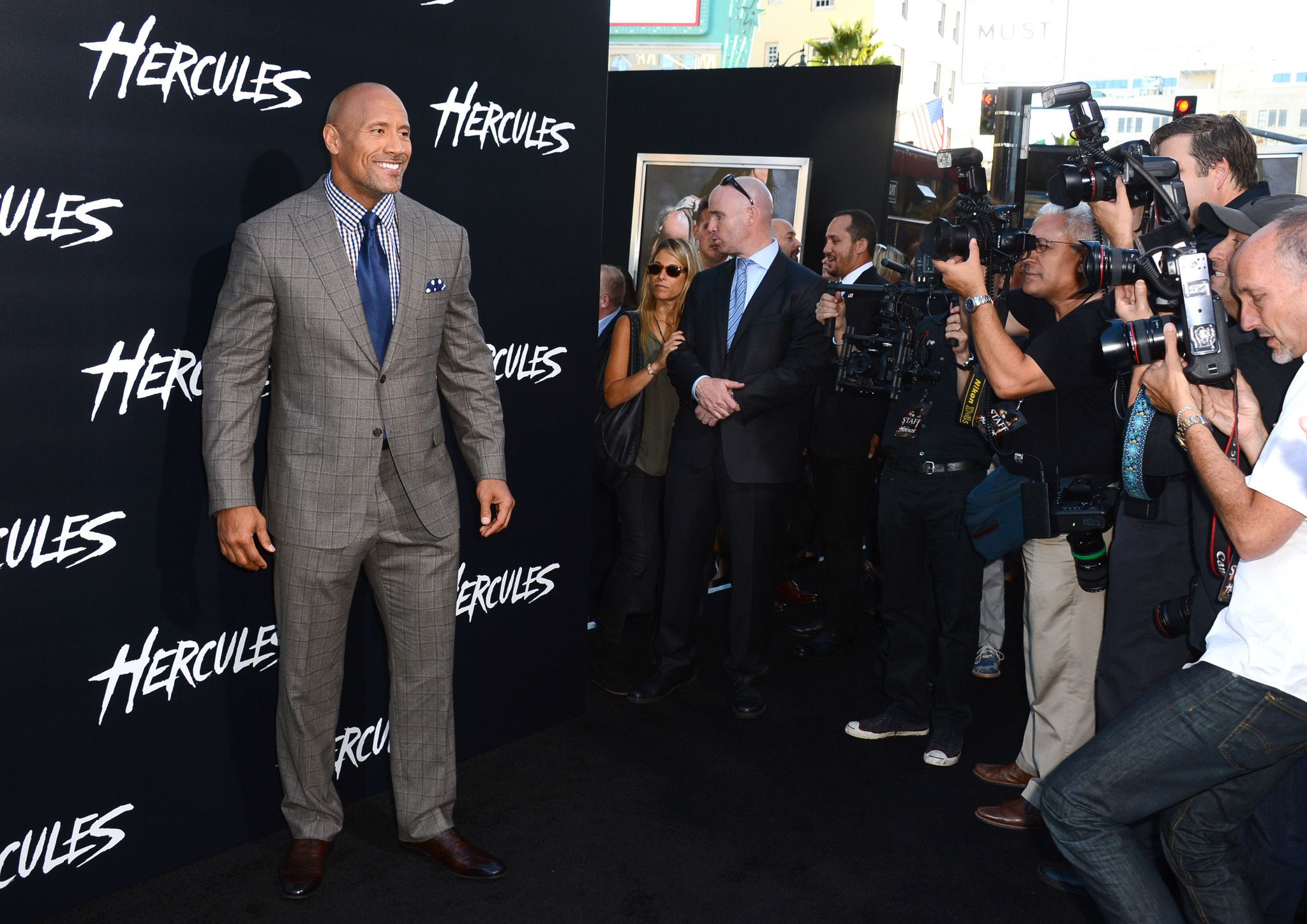 The rock transforms into hollywoods hercules