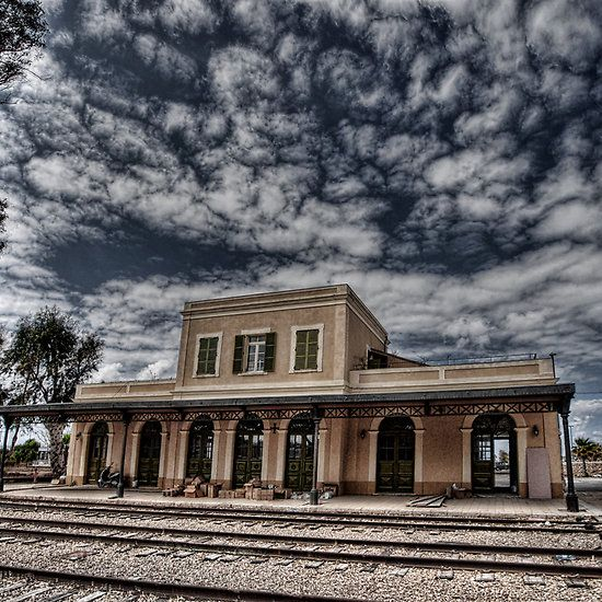 Tel Aviv, The Old Railway Station: the haunted station house