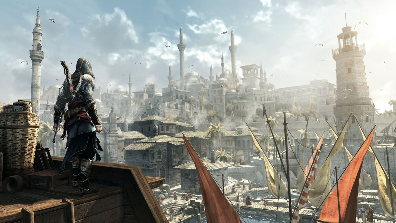 Windows Theme With Assassins Creed Revelations Wallpaper In