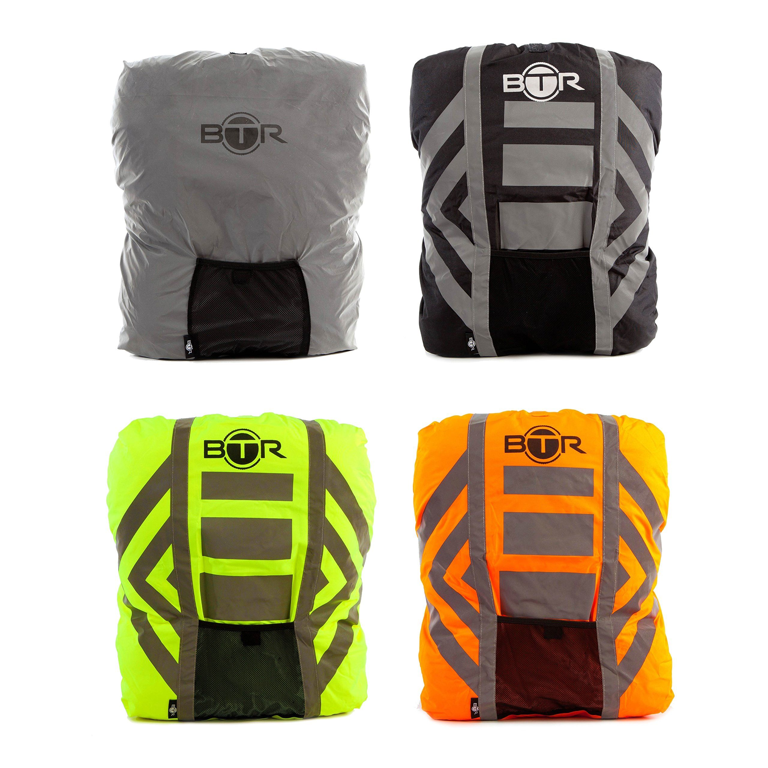891f6b23d2b4 High Visibility Reflective M Orange Waterproof Backpack Cover. BEST Rucksack  Cover For Low Light