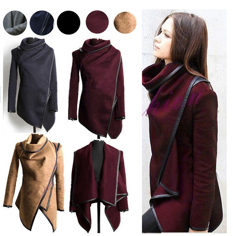 Winter Wool Coat Trench Coats Women Long Jacket Girl Tops Xl ...