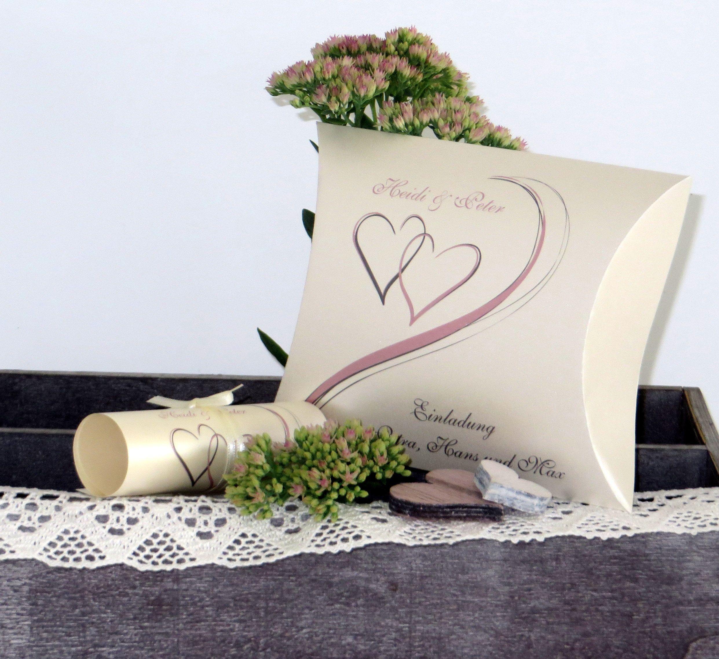 Hochzeitseinladung Mal Anders Mit Dieser Einladungsbox überraschen