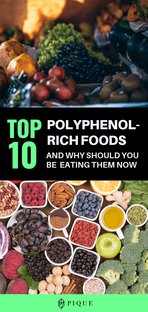 Polyphenols are the most abundant of all antioxidants ...