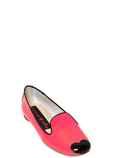 10MM PATENT LEATHER LOAFERS