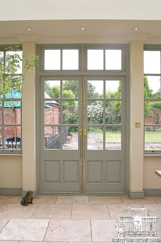 Georgian french doors pinteres for Patio doors with side windows