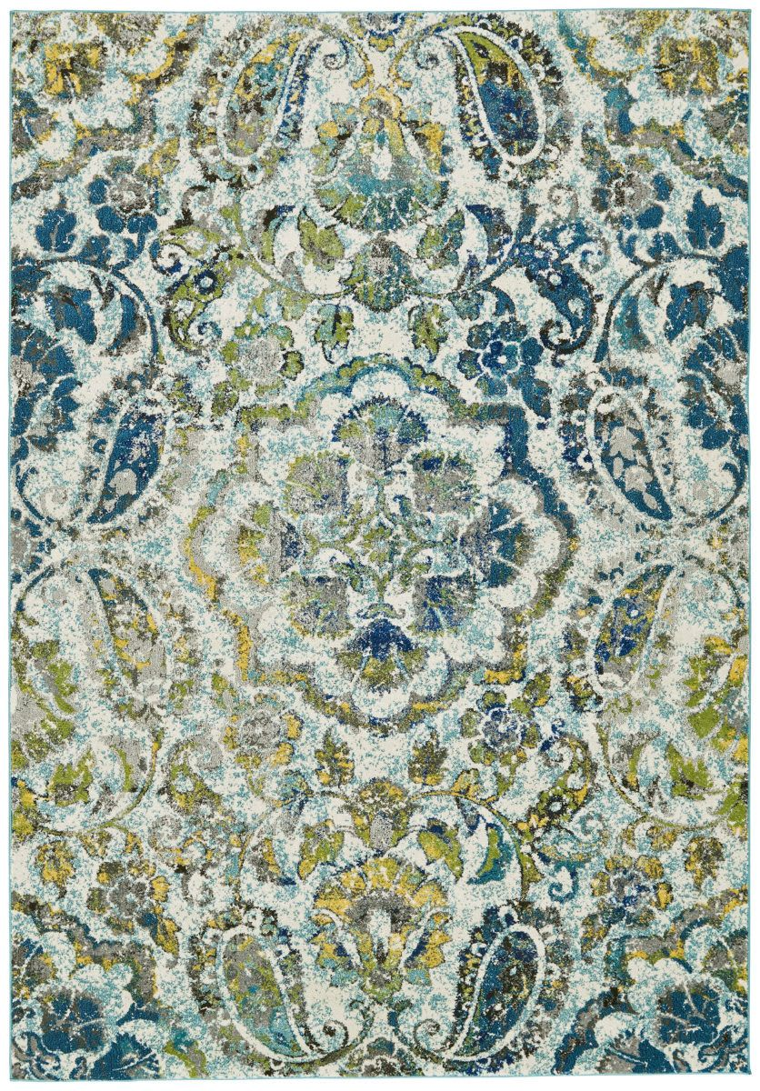 Feizy Brixton 3607f Azure Area Rug Clearance In 2019 Rugs