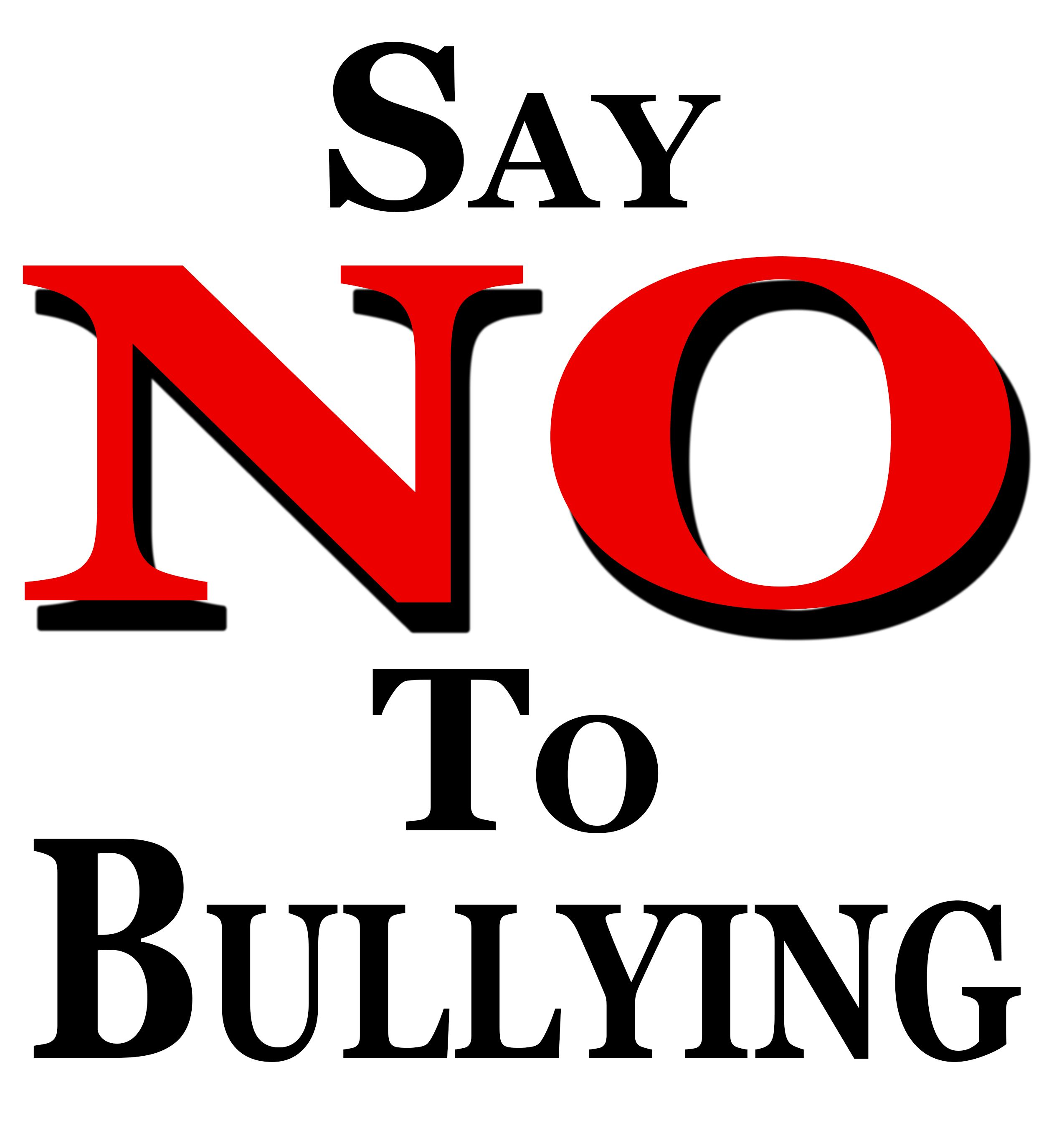 Say NO to bullying!!!! (With images) Bullying prevention