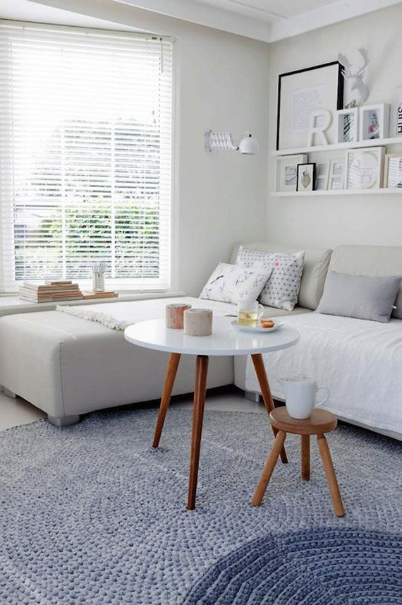 Ideas And Inspiration For Organizing Small Living Rooms With