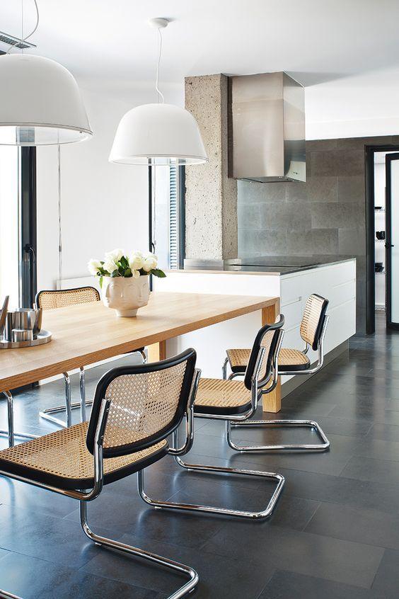 Cesca chair comedor dining room design dining room chairs y dining chairs - Modelos de sillas de comedor modernas ...