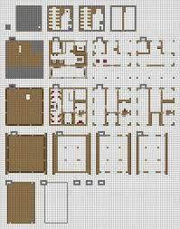 Minecraft Modern House Blueprints Layer By Layer Ile Ilgili