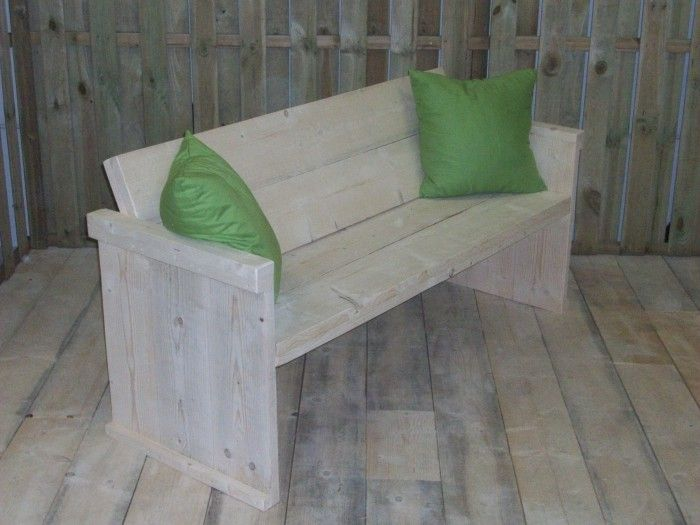 Tuinbank steigerhout bouwpakket garten pinterest tuin for Bouwpakket steigerhout