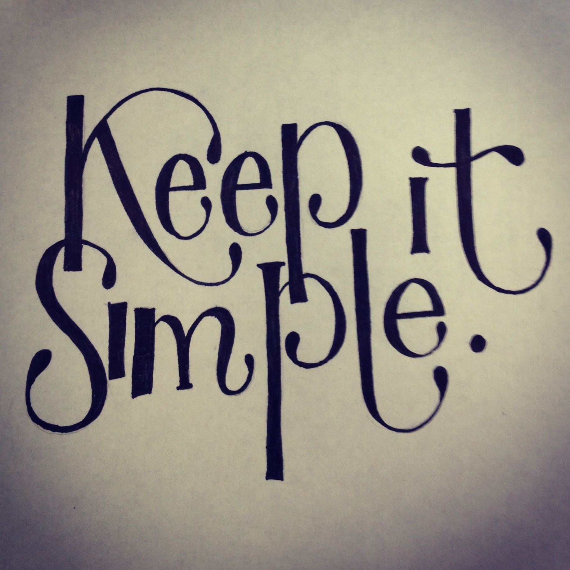 Keep It Simple Quotes. QuotesGram