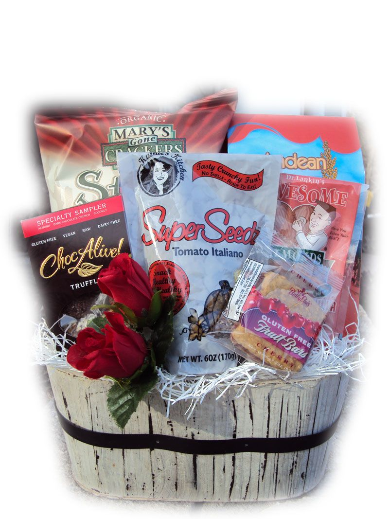 My Vegan Valentine Healthy Gift Basket