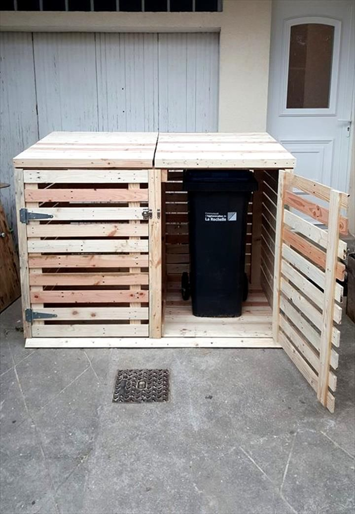 With Pallets You Can Even Solve This Problem Too By