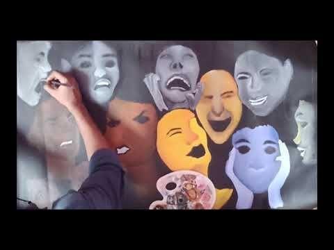 Emotions unraveled ModernArt By Pankaj Verma #modernart #expression #abs...