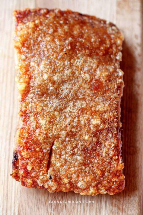 Photo of Crispy Pork Belly Recipe (Siu Yuk)