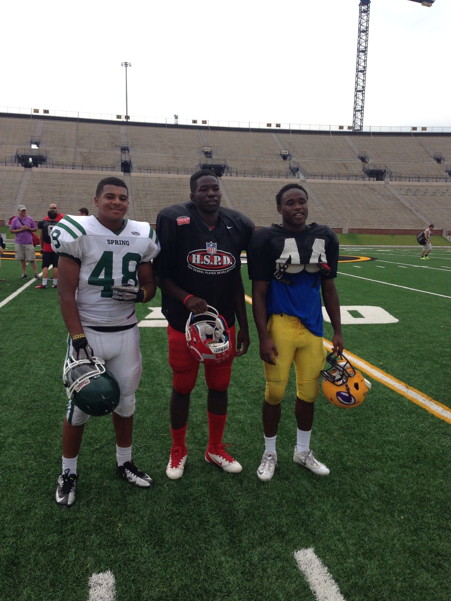 Miles and friends at MU camp!