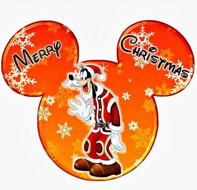 Imprimibles de Disney para Navidad con diferentes personajes. 5 ...